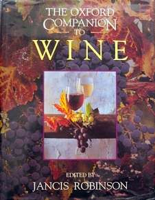 THE OXFORD COMPANION TO WINE (33.943A)